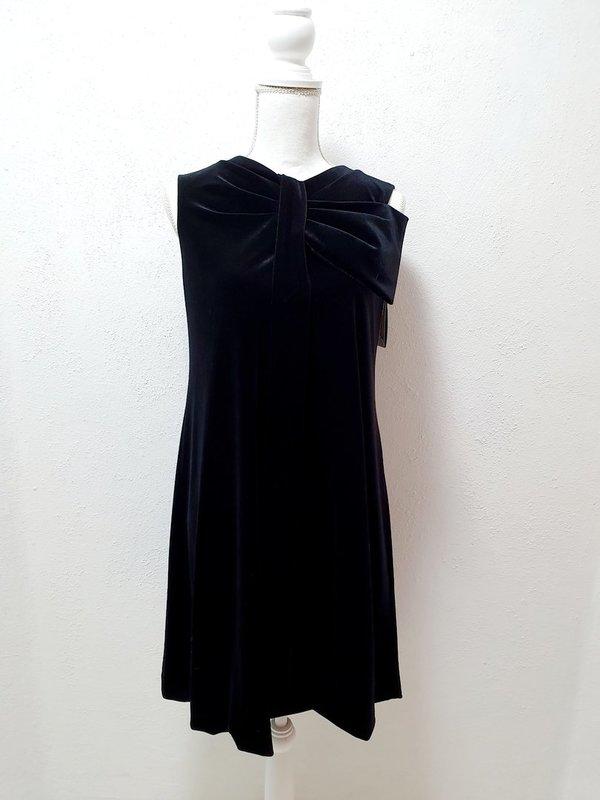Emporio Armani Designer Kleid Aus Samt Kurz Festlich Farbe Schwarz Grosse 38 Daniela Hoareau
